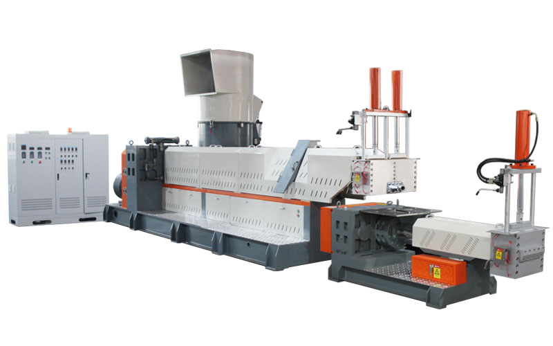 Dense machine granulation unit